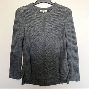 Madewell Grey Knit Pullover Sweater - C